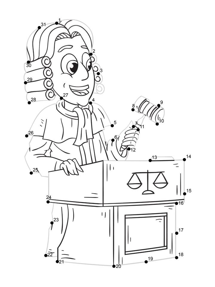 lawyer printable worksheet