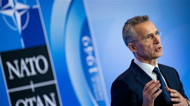 NATO Secretary General Jens Stoltenberg warns Russia of 'full range' of measures if Moscow wages cyber attack