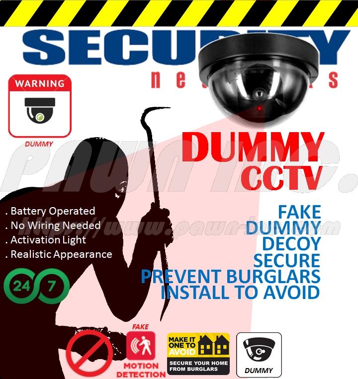 Dummy Dome CCTV