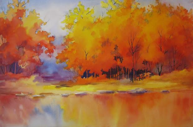 Vermont Art Zine Jericho Center Landscape Paintings