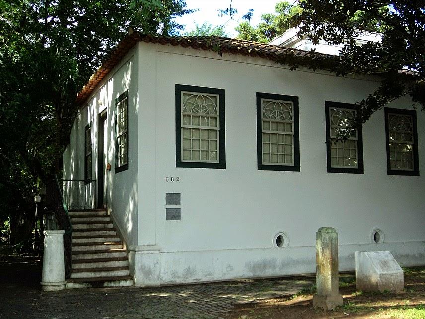 Museu de Porto Alegre, localizado no prédio do Solar Lopo Gonçalves, na Cidade Baixa.