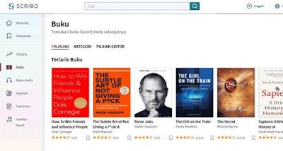 Beberapa Website Download Buku (eBook) Gratis