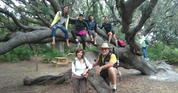 Cumberland Island 2018 | Outdoors Learning Adventures and SDGs | Prof. Flor & Dr. Jose G. Lepervanche | @ecaptains