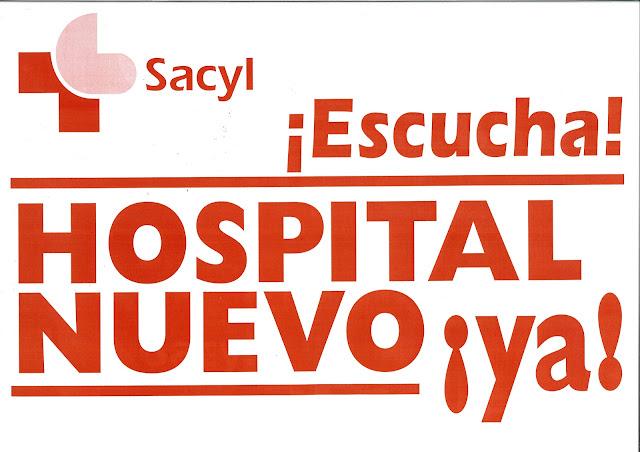 Resultado de imagen de cartel manifestacion hospital aranda de duero