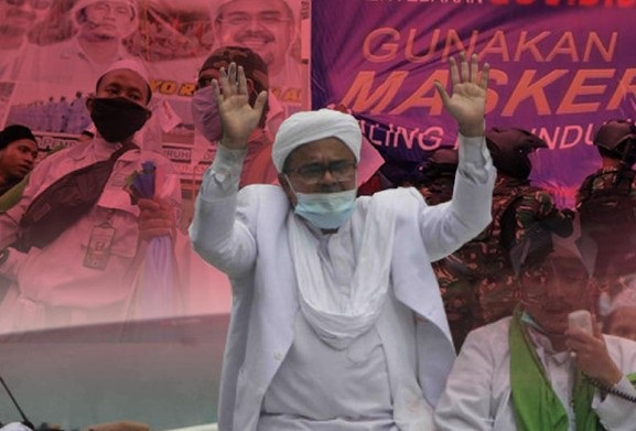 Habib Rizieq Sebut Hanya Bakal Bertindak Tertib Jika Sidang Digelar Offline