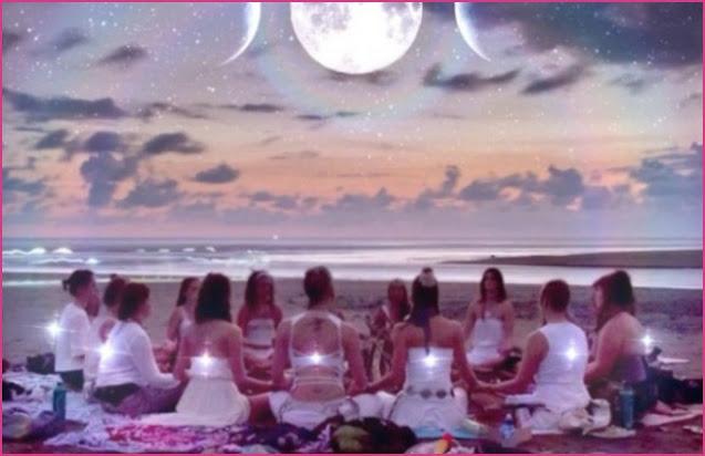 Làm thế nào để hấp dẫn nhưng điều mình muốn với các nghi lễ trăng tròn và trăng non