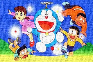 Il gatto spaziale Doraemon arrivato dal futuro