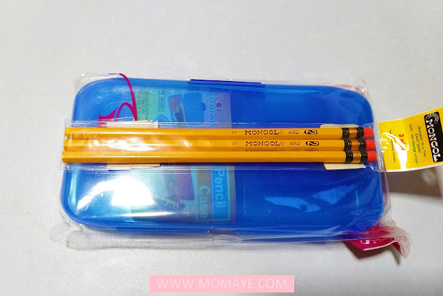 SM Department Store, SM Stationery, Mongol pencils, pencil case