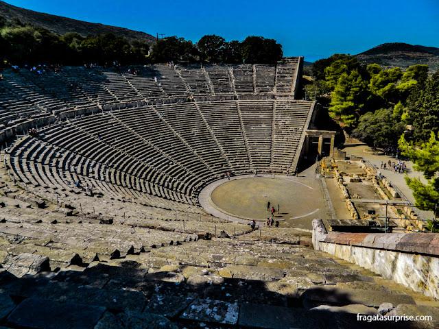 Bate e volta a partir de Nafplio: Teatro de Epidauros