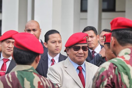 Prabowo: Ada Dalang dan Kekuatan Asing di Balik Kerusuhan Demo Tolak UU Cipta Kerja
