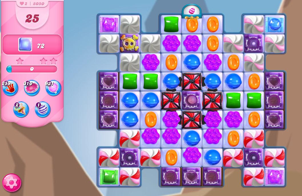 Candy Crush Saga level 8050