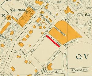 Mappa Via Alfarano