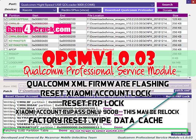 Download QPSMv1.0.03 (Qualcomm Professional Service Module)