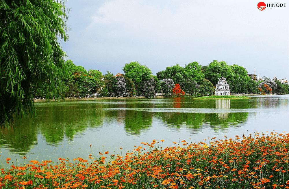 Hồ Gươm - Trumg tâm Thủ Đô Hà Nội