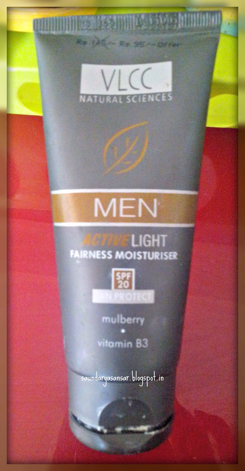 VLCC Active Light Moisturiser for Men Review