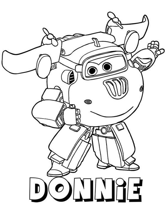 super wings coloring pages 2