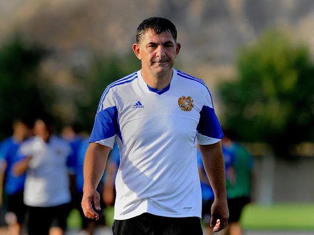 Nuevo entrenador de la selección de fútbol de Armenia