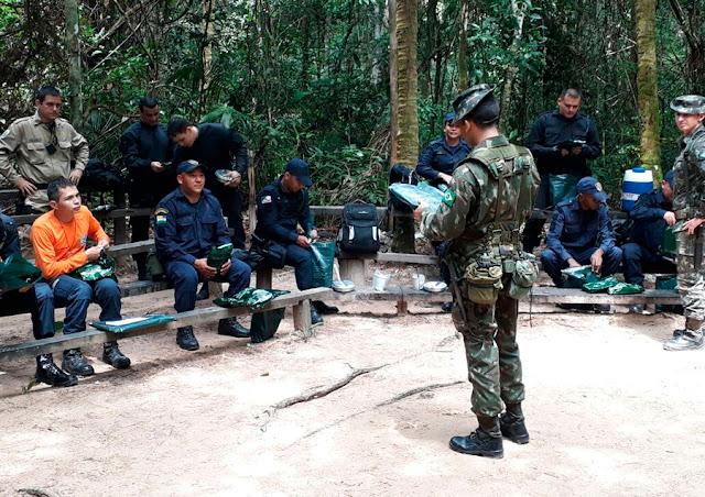1ª Bda Inf Sl - Apoia Órgãos de Segurança Pública de Roraima