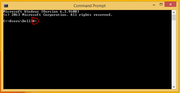 Cleaning Pen drive from viruses in Command Prompt