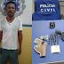Polícia Civil de Sento Sé apreende traficante com drogras, munições e arma de fogo