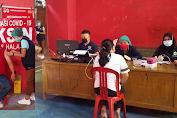 Kapus Ambar dr Marini Baguna Pimpin Langsung Vaksinasi Covid-19 Desa Tewasen