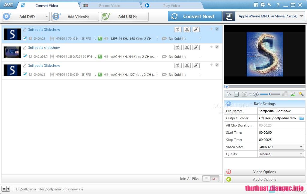 Download Any Video Converter Ultimate 6.2.6 Full Keygen – Chuyển đổi Video mọi định dạng
