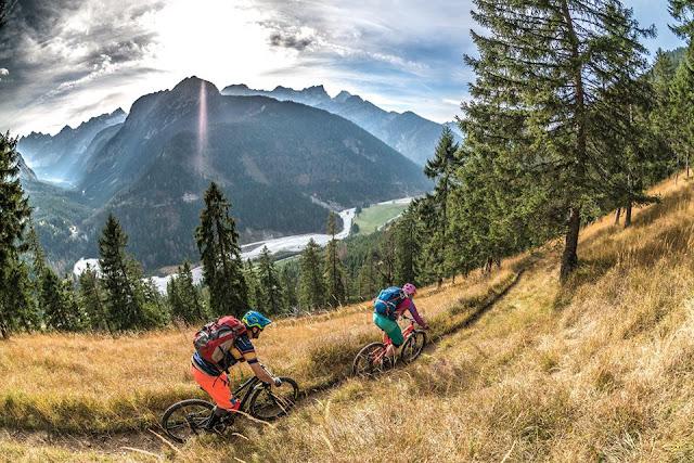 biketour fleischbank karwendel mtb mountainbike, petra zeller