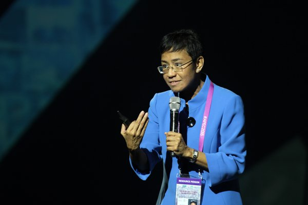Image: Maria Ressa, CEO and Executive Editor of Rappler.com