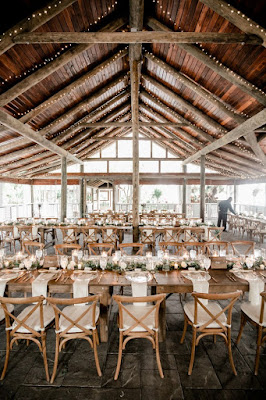paradise cove orlando reception setup