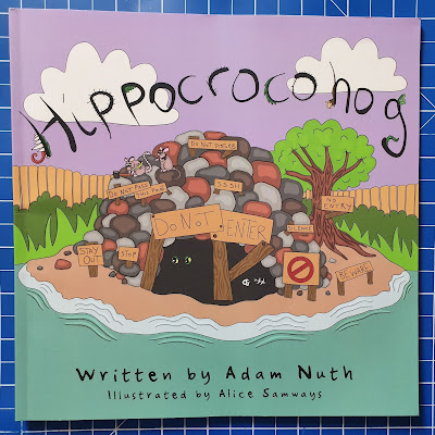 Hippocrocohog book cover Childrens story book by Adam Nuth