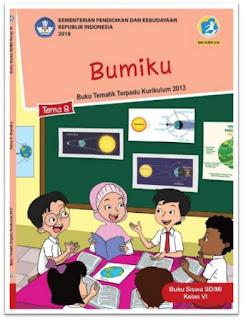 download gratis buku tematik kelas 6 tema 8