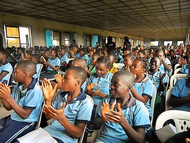 Oluigbo competition  at Calvary school owerri