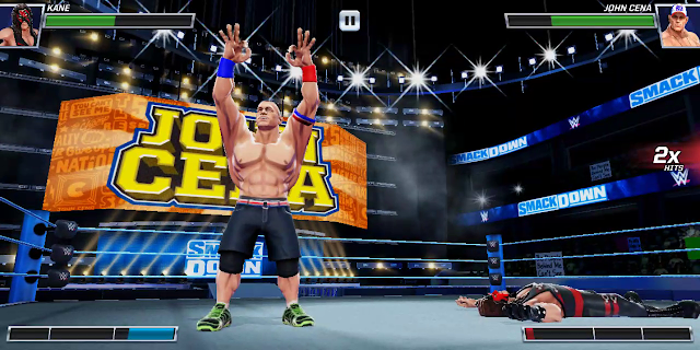 wwe mayhem game