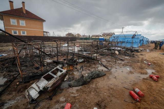 Rusia Tiru China Bangun RS Darurat, Belum Rampung Sudah Terbakar dan Tewaskan Pekerja