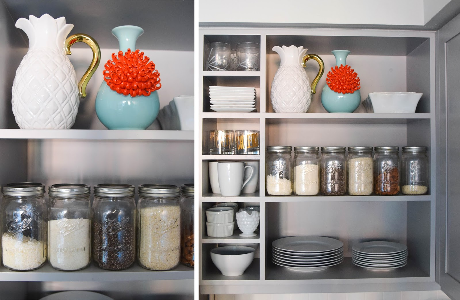 Open Shelving in the Kitchen: How to Style AND Stay Organized
