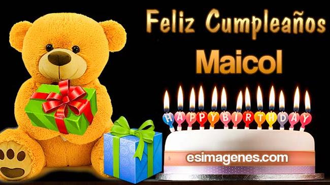Feliz Cumpleaños Maicol