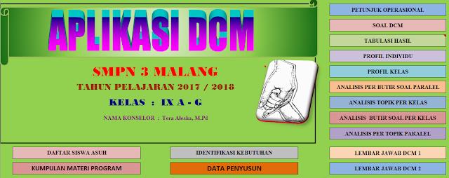 Aplikasi DCM Bimbingan dan Konseling