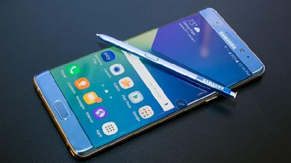 Samsung Galaxy Note 7 cập nhật bản mới