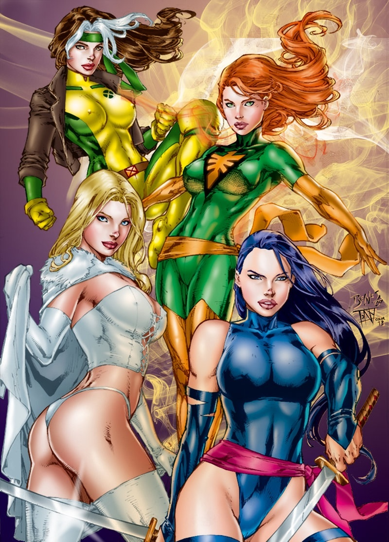 Videos: Top 10 Sexiest Female Mutants in X-Men