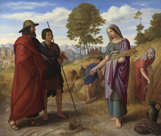 Rute e Boaz - Julius von Carolsfeld