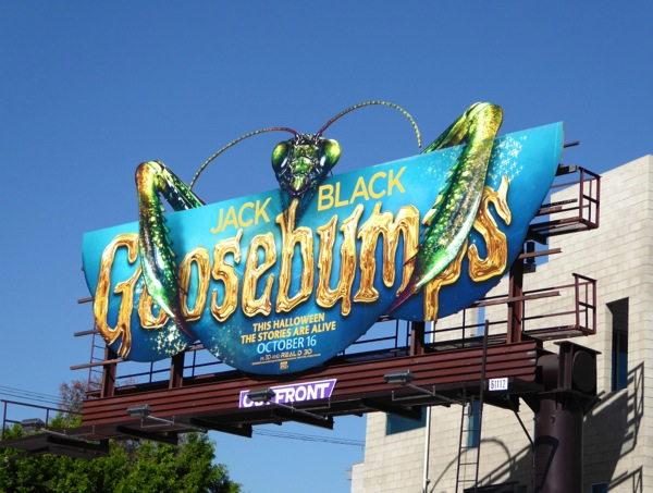 Goosebumps Praying Mantis billboard