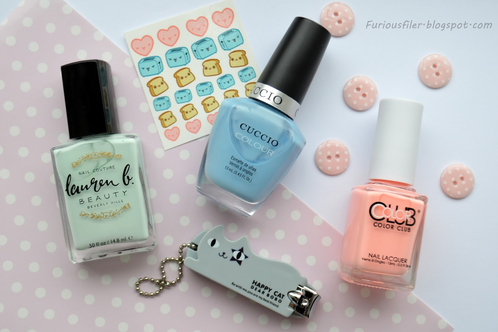 Kawaii MeeBox: Nail Art and Review - FURIOUS FILER