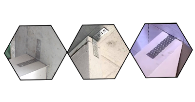 3 liên kết neo bát thép vào tường