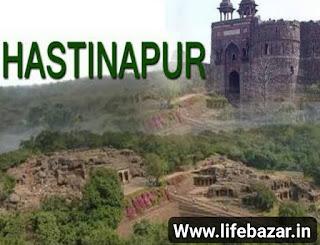 महाभारत काल का हस्तिनापुर कहा है। hastinapur biography,  history in hindi