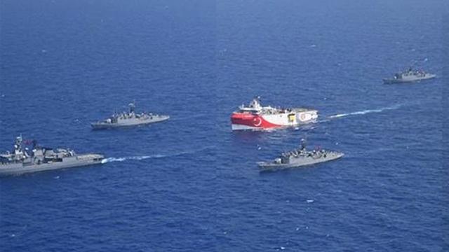«Oruc Reis»: Στα 52 ναυτικά μίλια εντός της ελληνικής υφαλοκρηπίδας