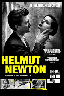 Black and white film poster showing man caressing the cheek of a beautiful woman