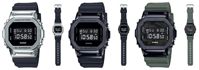 G-Shock GM5600 Stainless Steel