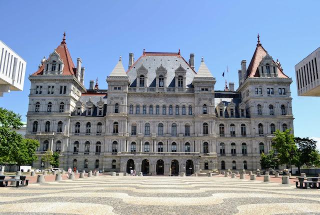 Капітолій штату Нью-Йорк. Олбані. Нью-Йорк (New York State Capitol. Albany. NY)