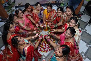 सखी वेलफेयर फाउंडेशन ने उल्लास पूर्वक मनाया तीज महोत्सव | #NayaSaberaNetwork