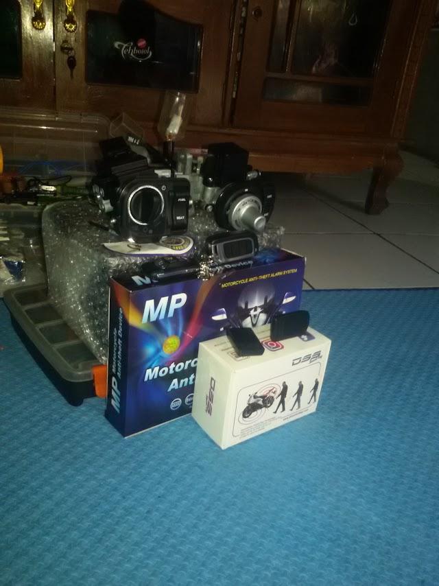 Jual dan Pasang Keyless PCX Kombinasi Alarm MP One Way